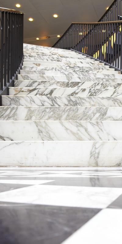 Marmolpulido pulido de escaleras superficies profesional